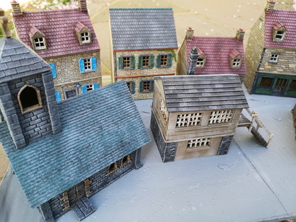 Selection of Painted Buildings